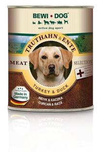 Консервы для собак Bewi Dog Meat Selection Turkey & Duck